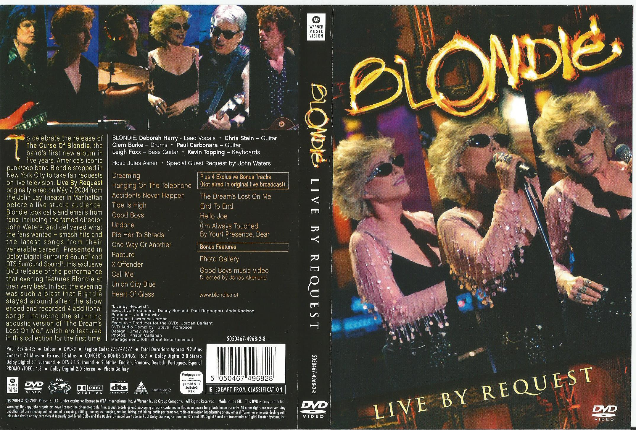 Blondie Live By Request Records Lps Vinyl And Cds