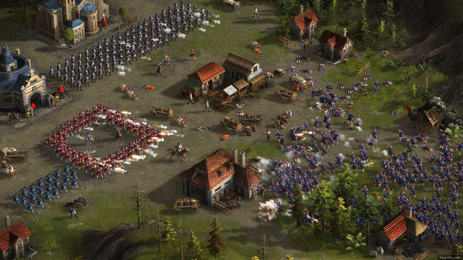 Казаки 3 / Cossacks 3 [v 2.0.5.87.5834 + 7 DLC] (2016) PC | Repack от =nemos=