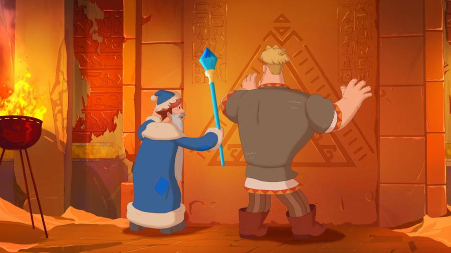 Три богатыря и принцесса Египта (2017) WEB-DL 1080p