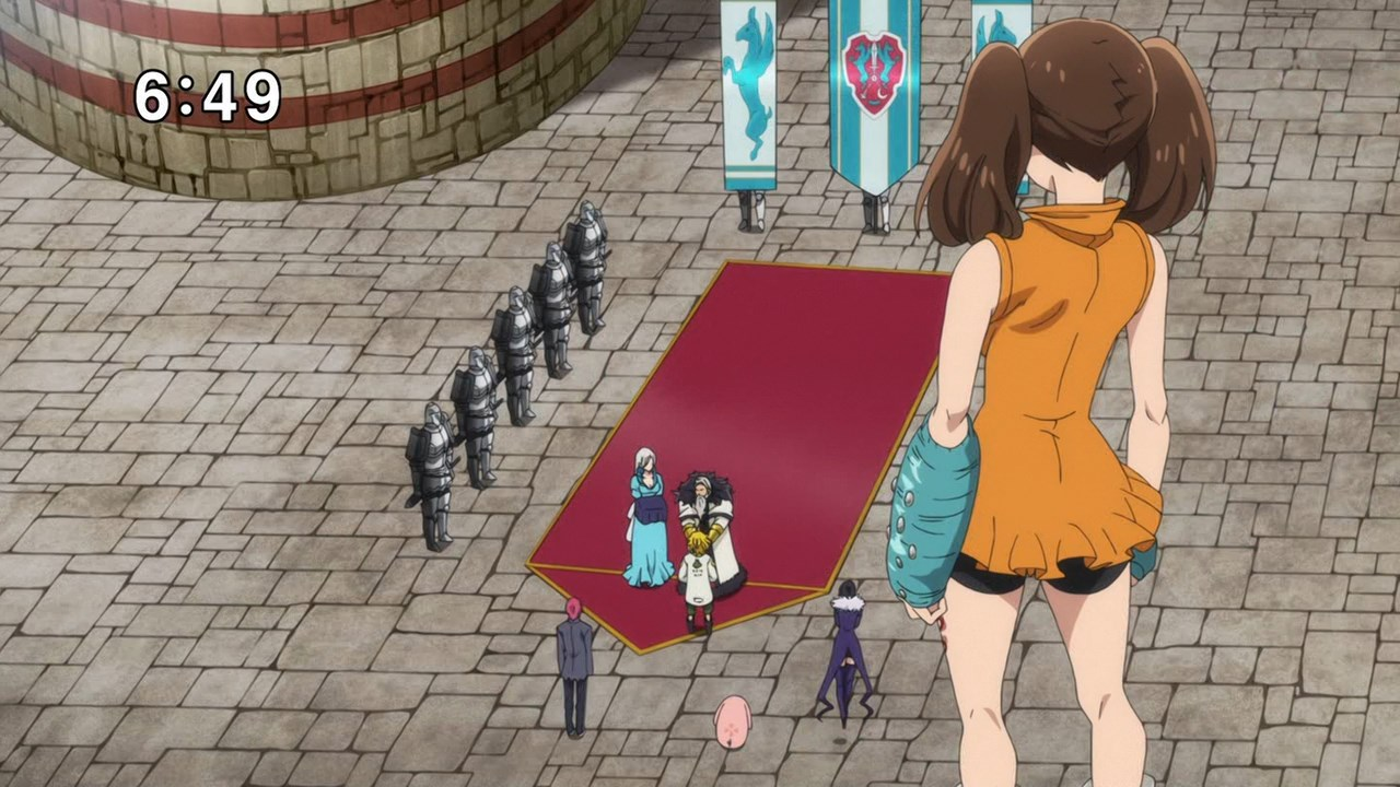 Семь смертных грехов 2: Возрождение заповедей / Nanatsu no Taizai: Imashime no Fukkatsu [02x01-05 из 24] (2018) HDTVRip 720p
