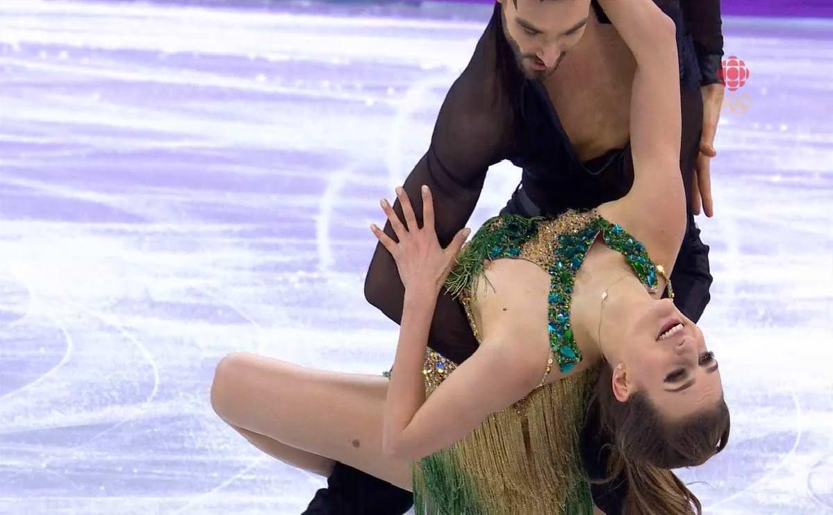 танцы на льду обнажение индикатору