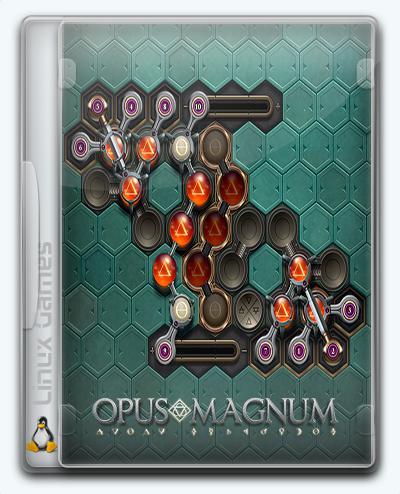(Linux) Opus Magnum (2017) [Ru/Multi] (1.0) License GOG