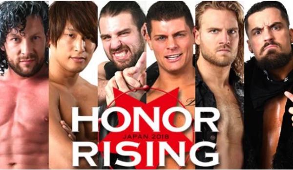 NJPW. Honor Rising 2018 Day 1
