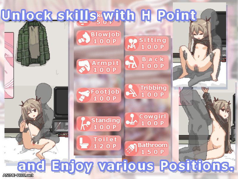 Everyday Sexual Life with Hikikomori Sister [2016] [Cen] [SLG, Animation, Dot/Pixel] [ENG] H-Game