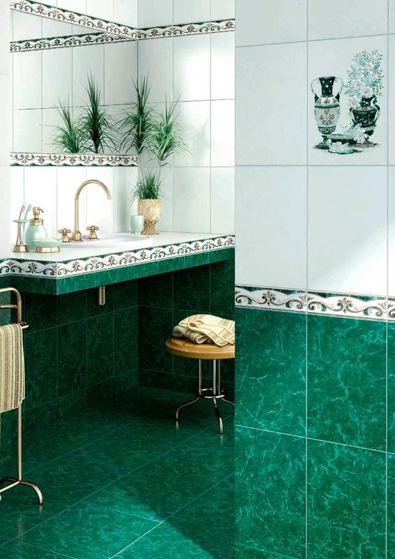 Плитка для ванной и кухни InterCerama