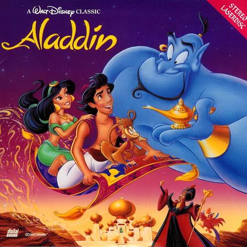 Аладдин / Aladdin (Рон Клементс / Ron Clements, Джон Маскер / John Musker) [1992, США, приключения,семейный, мультфильм, LDRip &gt DVD5 (Custom)] AVO (Михалев, Гаврилов)