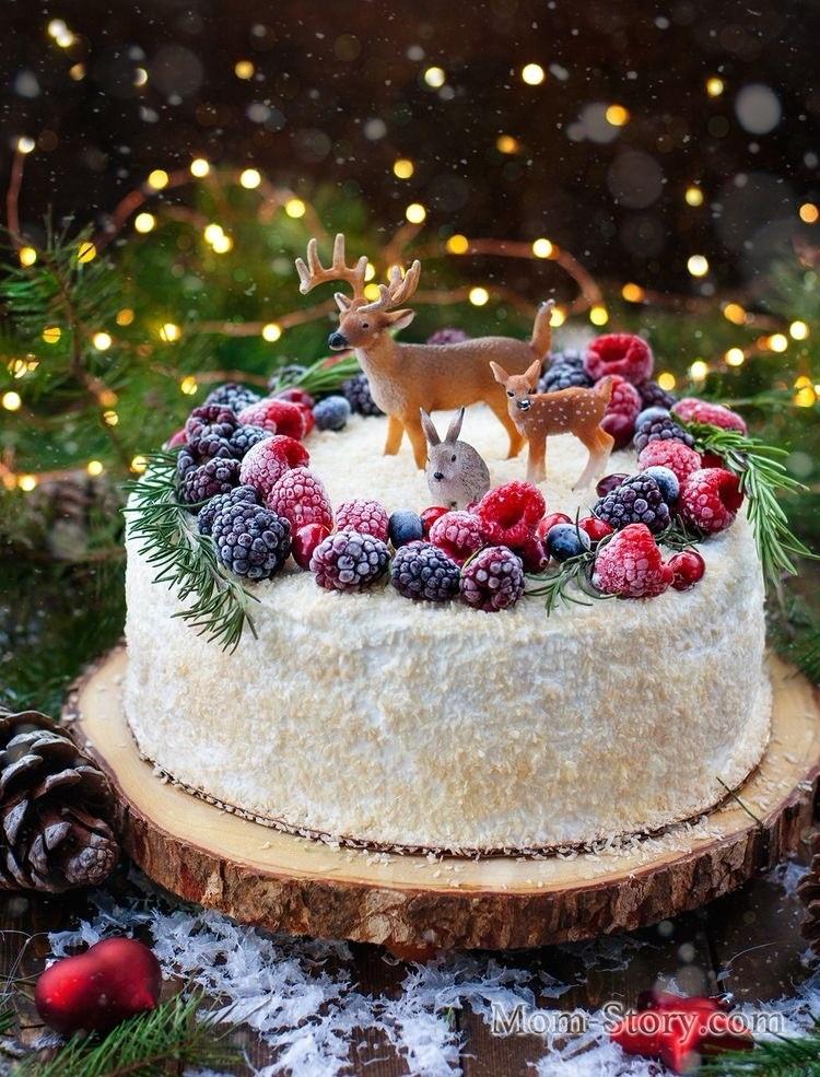 Новогодний тортик