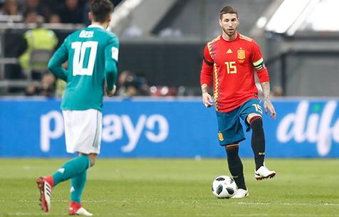С. Рамос сыграл свой 150-й матч за сборную Испании