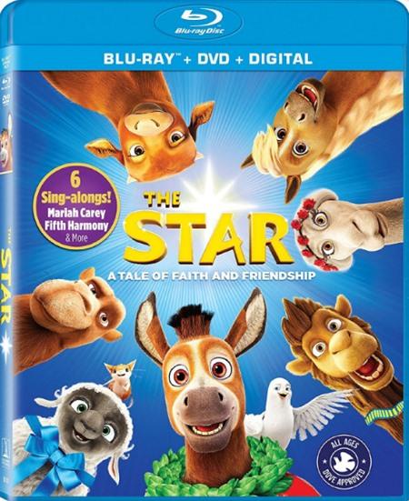 Путеводная звезда / The Star (2017) BDRip [H.264 / 1080p-LQ]
