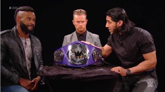 WWE 205 live 27.03.2018