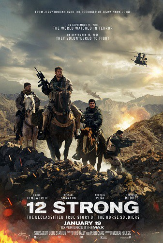 12 Strong 2018 720p WEB-DL H264 AC3-EVO