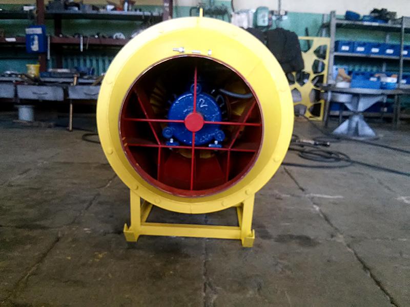 Основные особенности установки шахтных вентиляторов