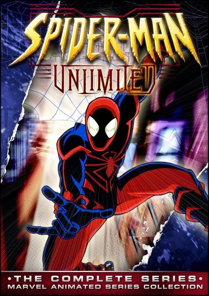 Непобедимый Человек-паук / Непобедимый Спайдермен / Spider-Man Unlimited / Сезон: 1 / Серии: 1-13 (13) (Патрик Арчибальд / Patrick Archibald) [1999, Приключения, комедия, экранизация комикса, DVDRip-AVC] Dub + Original