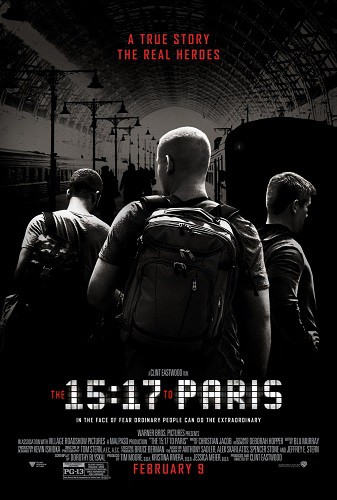 The 15 17 to Paris 2018 720p WEB-DL H264 AC3-EVO