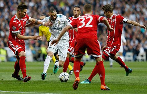 Real Madrid C.F - FC Bayern Munchen 2:2