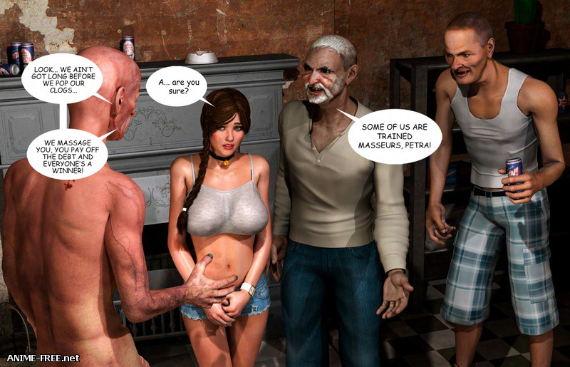 Supafly - Lost Bet - Petra Helps The Elderly [Uncen] [3DCG] [ENG] Porn Comics