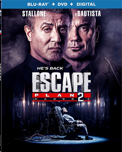 Escape Plan 2 Hades 2018 720p BRRip X264 AC3-EVO