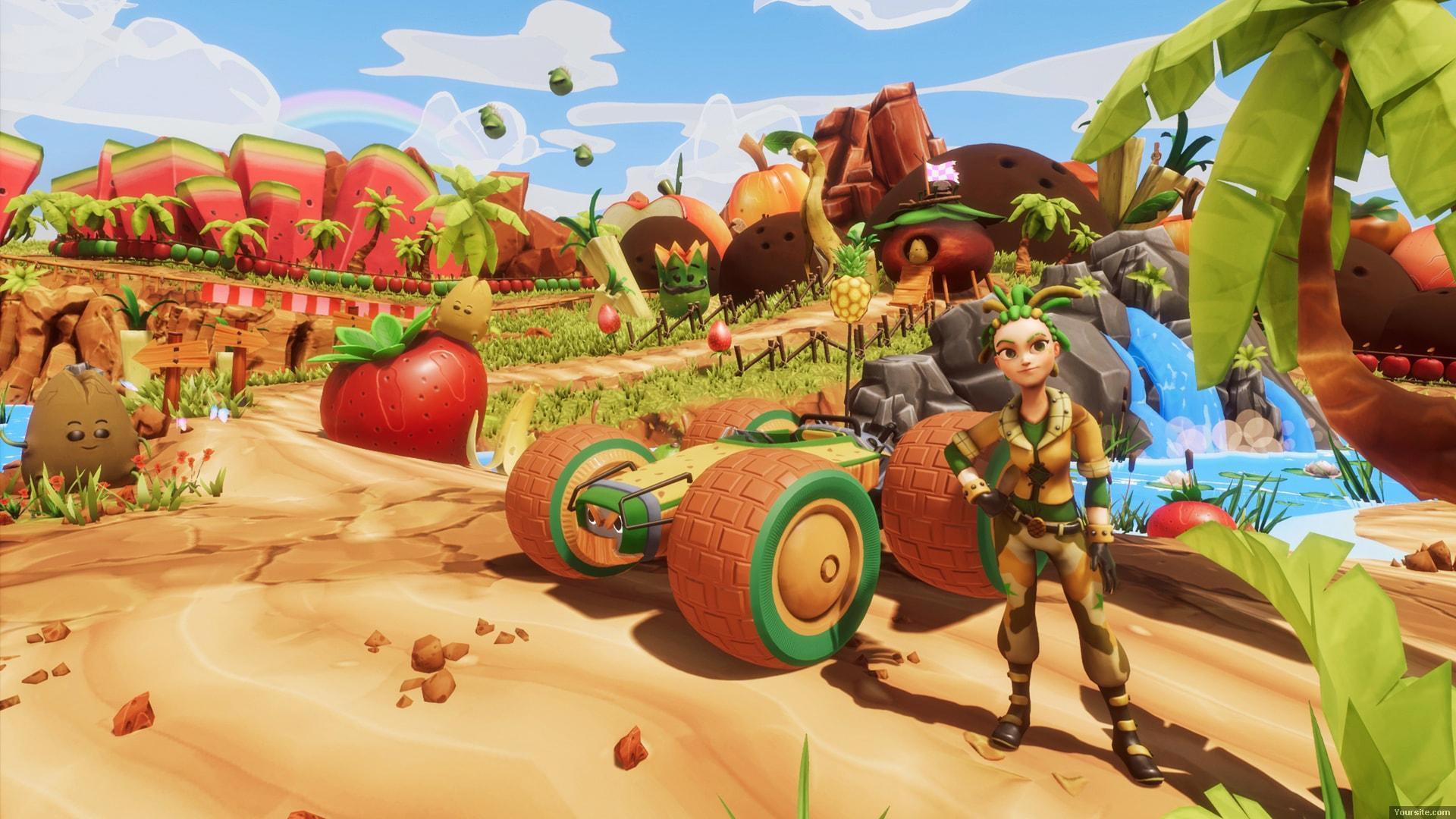 All-Star Fruit Racing (2018/PC/Русский), Лицензия