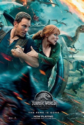 Jurassic World 2018 V2 720p HC HDRip X264 AC3-EVO