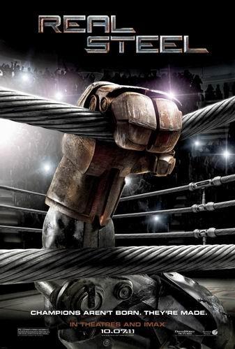 Живая сталь / Real Steel (Шон Леви / Shawn Levy) [2011, США, Индия, фантастика, боевик, семейный, WEB-DLRip] [Open Matte] [Локализованный видеоряд] Dub