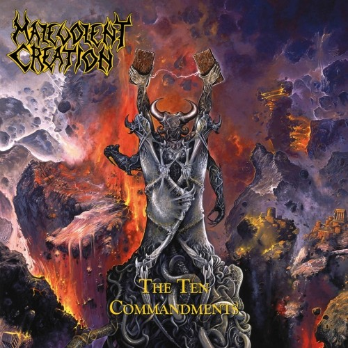 (Death Metal) Malevolent Creation - The Ten Commandments (Deluxe) - 2018, MP3, 320 kbps