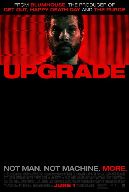Апгрейд / Upgrade (2018) AC3 5.1 [hand made]
