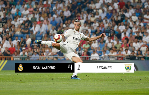 Real Madrid C.F. - CD Leganes  4:1