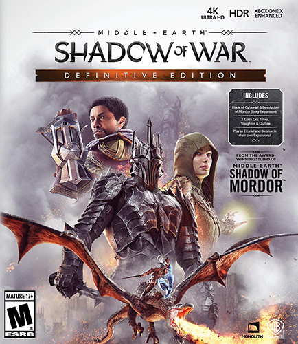 Middle-earth: Shadow of War - Definitive Edition [v 1.21 + DLCs] (2018) PC | Repack