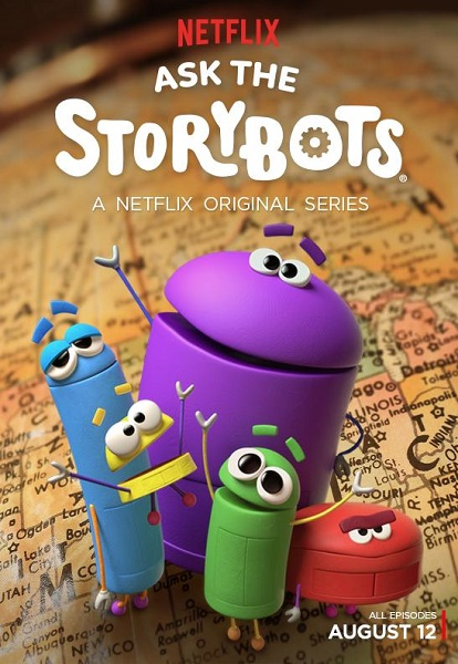 Истории Ботов / Ask the StoryBots [S02] (2018) WEBRip | ColdFilm