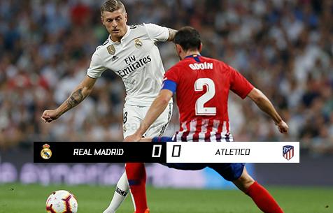 Real Madrid C.F. - Club Atletico de Madrid 0:0