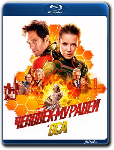 Человек-муравей и Оса / Ant-Man and the Wasp (2018) BDRip-AVC от HELLYWOOD | iTunes