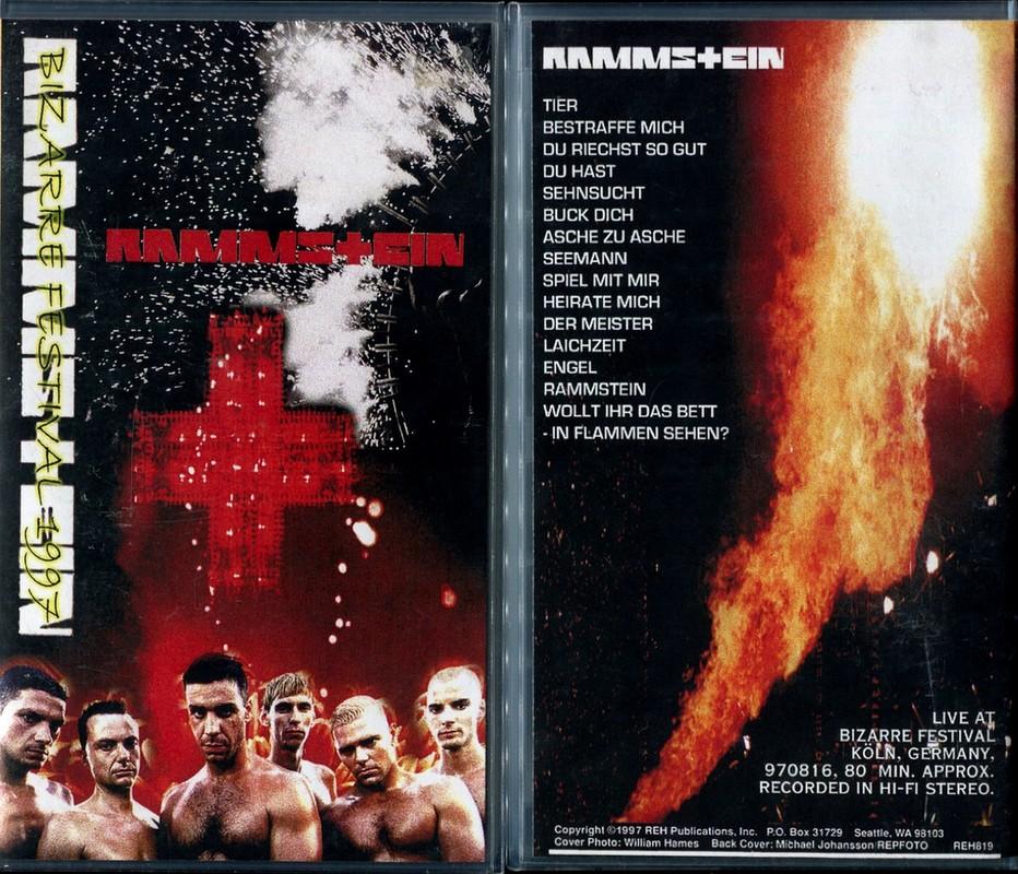 Rammstein - Bizarre Festival (1997) VHSRip [H.264]