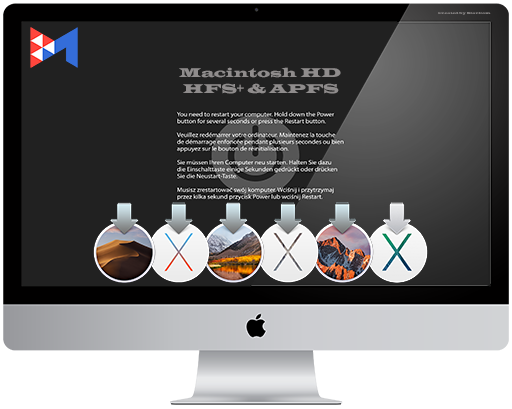 [DMG-образы предустановленных систем] - Macintosh HD - [HFS+ & APFS] v 6.1 [Multi/Ru] (Preinstalled)