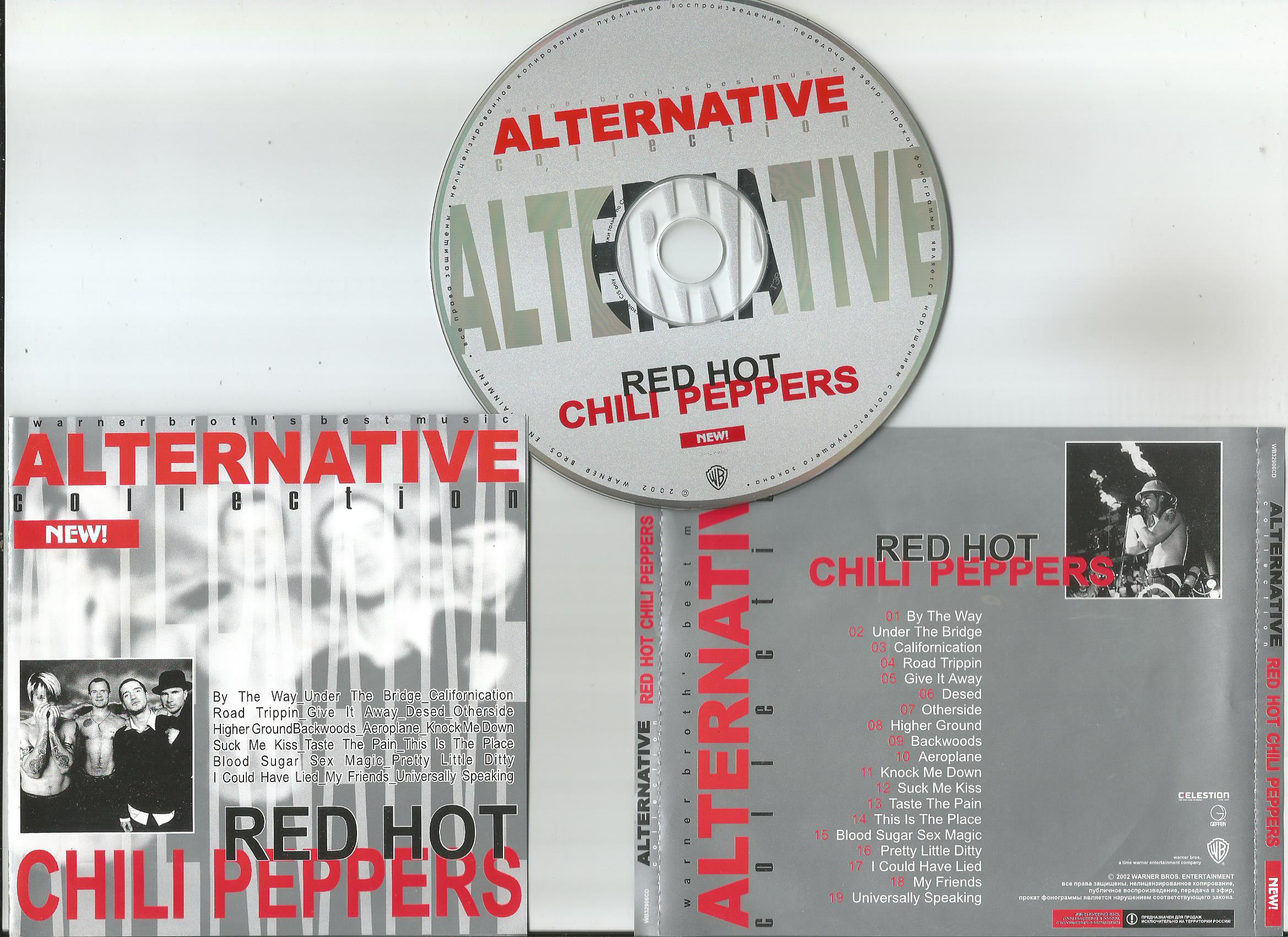 RED HOT CHILI PEPPERS Alternative Collection (19trk Russia only compilation)