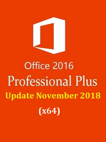 Office 2016 Pro Plus VL Multi-22 (x64) November 2018