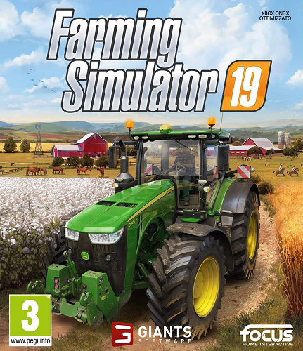 Farming Simulator 19 [v 1.5.1.0 + DLCs] (2018) PC | Repack
