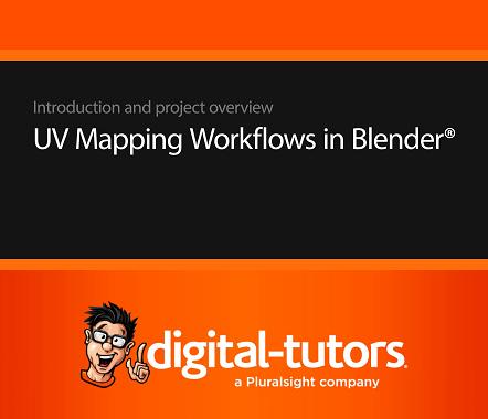 Digital-Tutors   UV Mapping Workflows in Blender (2015) PCRec [H.264/720p-LQ] [RU/EN]