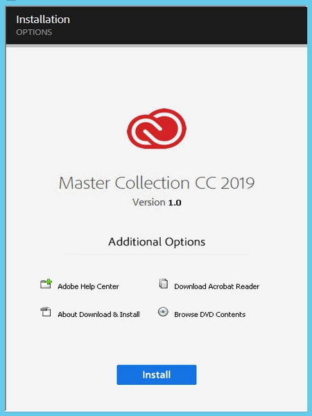 Adobe Master Collection CC 2019 v1 0 by M0nkrus - Бухгалтерский