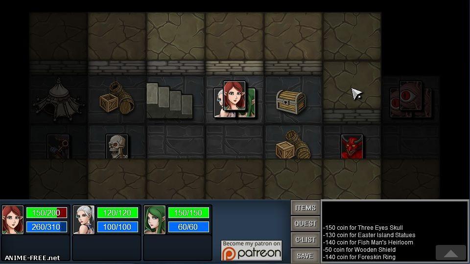 The Maze: D Traveller [2018] [Uncen] [Flash, ADV, RPG] [ENG] H-Game