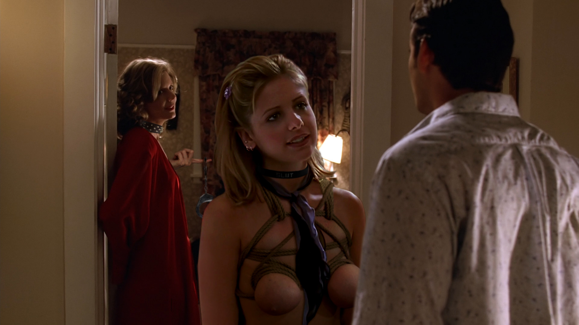 Puffy nipples in buffy naked the vampire slayer #15