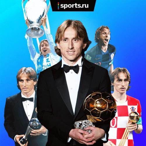 «Золотой мяч» – у Модрича. Это был его год [Футбол]
