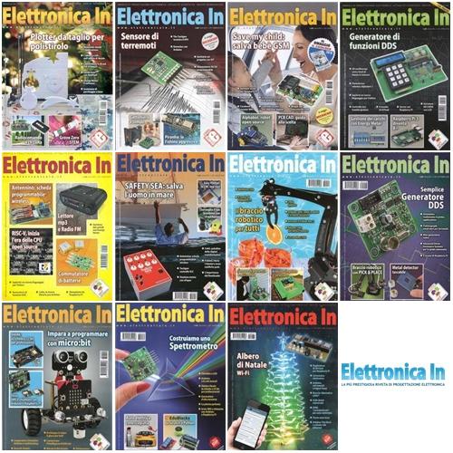 Elettronica In - Collezione Completa Anno 2018