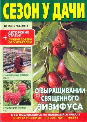 Газета   Сезон у дачи №23 (276) (Декабрь 2018) [PDF]