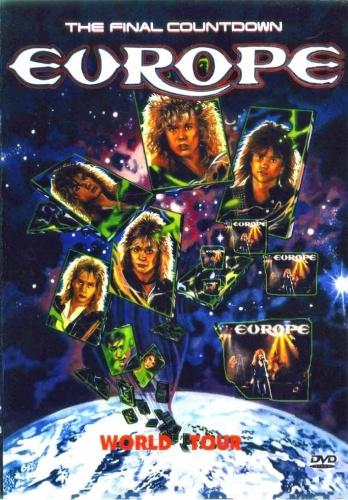 Europe - The Final Countdown (1987, DVDRip)
