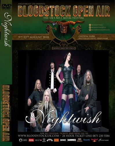 Nightwish - Bloodstock Open Air (2018, DVD5)