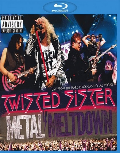 Twisted Sister - Metal Meltdown (2016, BDRip 1080p)
