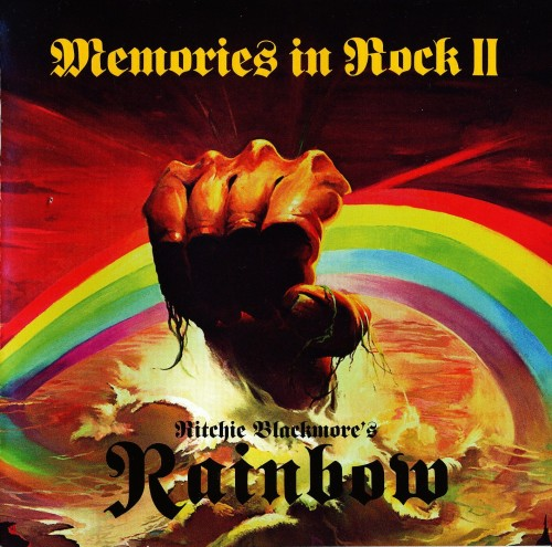 Ritchie Blackmore's Rainbow - Memories in Rock II (2018, DVD5)