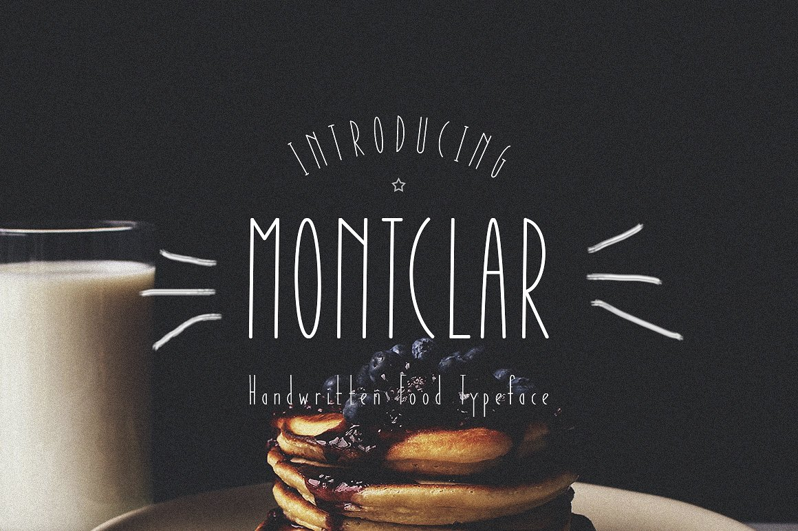 Шрифт Montclar