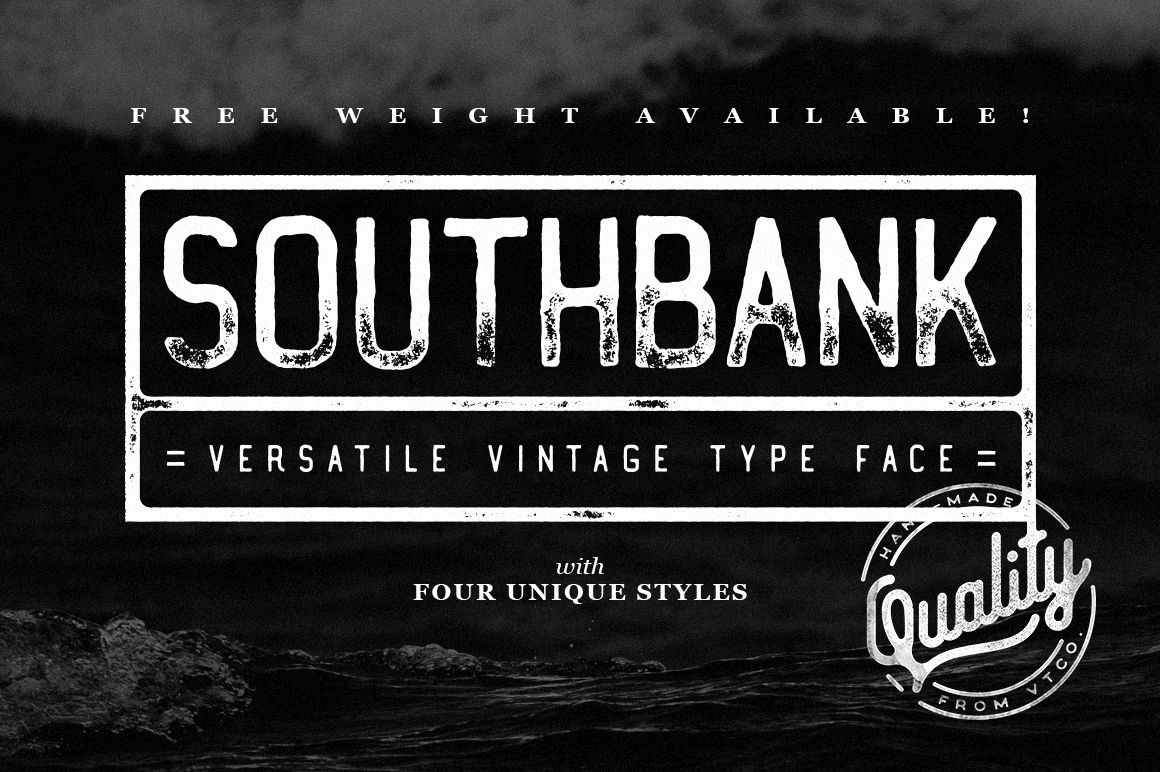 Шрифты семейства Southbank