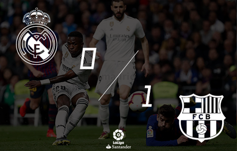 Real Madrid C.F. - FC Barcelona 0:1